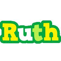 Ruth soccer logo