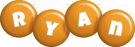 Ryan candy-orange logo