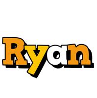 Ryan cartoon logo