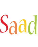Saad birthday logo