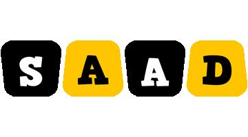 Saad boots logo