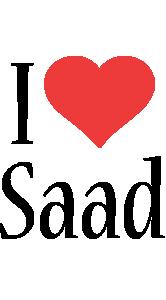 Saad i-love logo