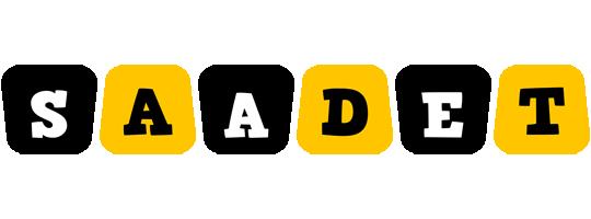 Saadet boots logo