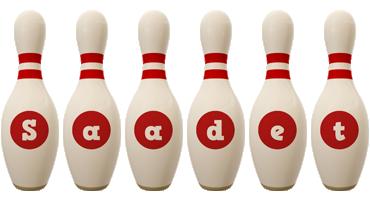 Saadet bowling-pin logo
