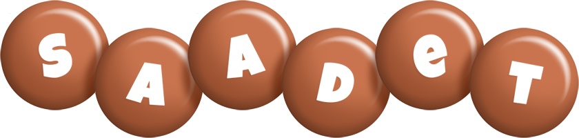 Saadet candy-brown logo
