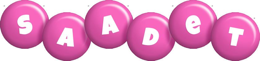 Saadet candy-pink logo