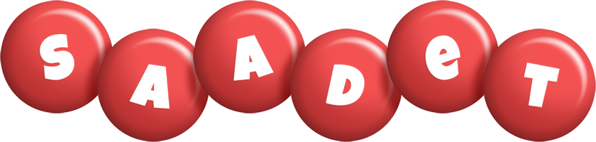 Saadet candy-red logo