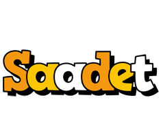Saadet cartoon logo