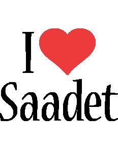 Saadet i-love logo