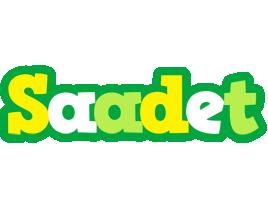 Saadet soccer logo