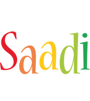 Saadi birthday logo