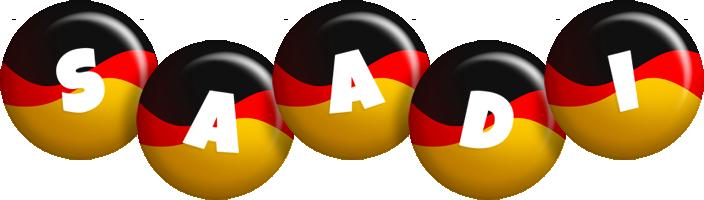 Saadi german logo