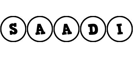 Saadi handy logo