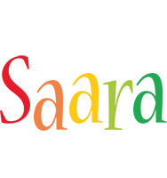 Saara birthday logo