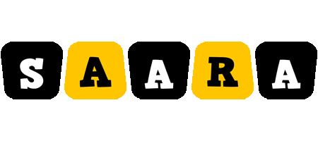 Saara boots logo