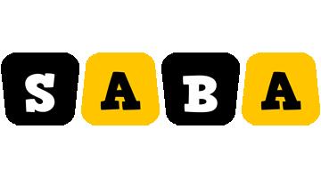 Saba boots logo