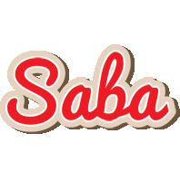 Saba chocolate logo