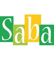 Saba lemonade logo