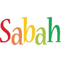 Sabah birthday logo