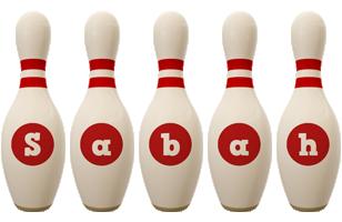 Sabah bowling-pin logo
