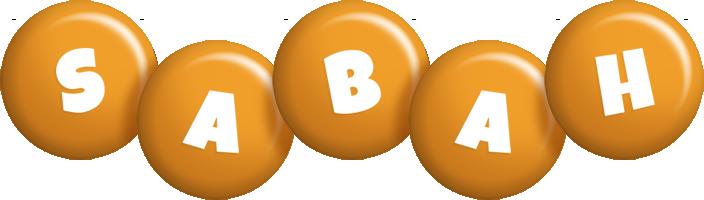 Sabah candy-orange logo