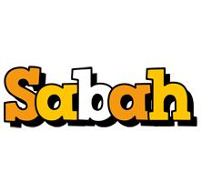 Sabah cartoon logo
