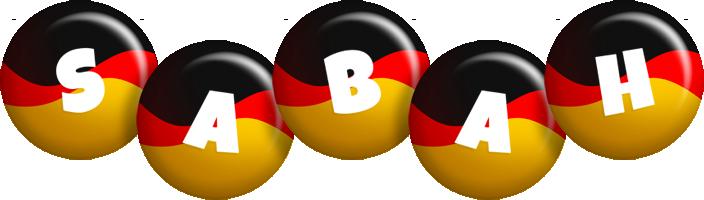 Sabah german logo