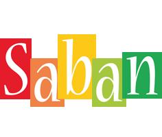 Saban colors logo