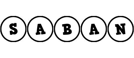 Saban handy logo