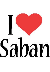 Saban i-love logo