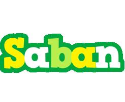 Saban soccer logo