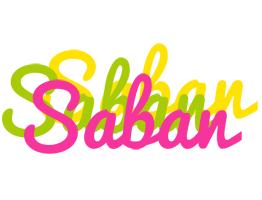 Saban sweets logo