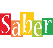Saber colors logo