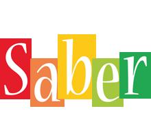 Saber colors logo