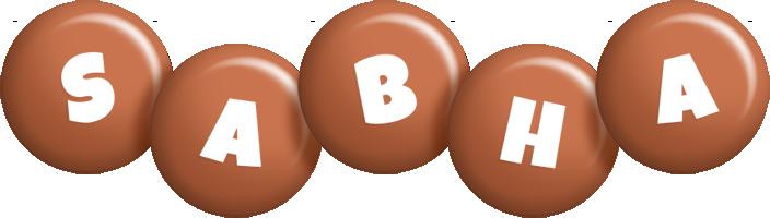Sabha candy-brown logo