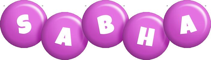 Sabha candy-purple logo