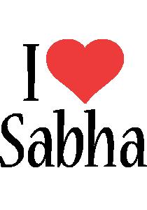 Sabha i-love logo