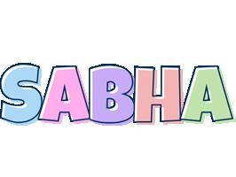 Sabha pastel logo