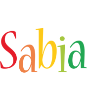 Sabia birthday logo