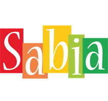 Sabia colors logo