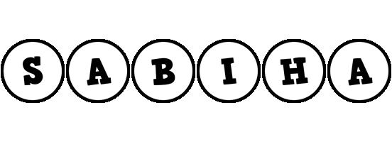 Sabiha handy logo