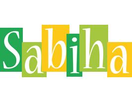 Sabiha lemonade logo