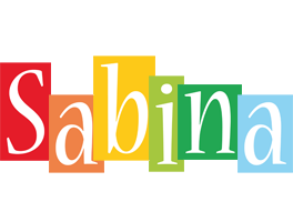 Sabina colors logo