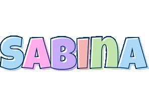 Sabina pastel logo
