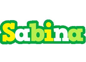 Sabina soccer logo