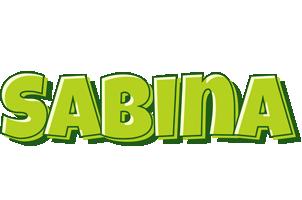 Sabina summer logo