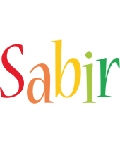 Sabir birthday logo