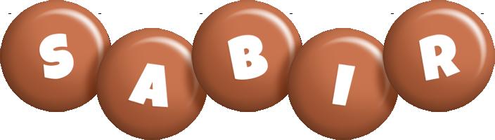 Sabir candy-brown logo