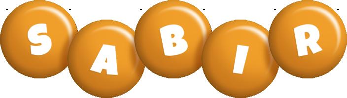 Sabir candy-orange logo