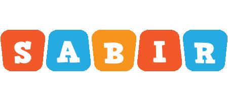 Sabir comics logo